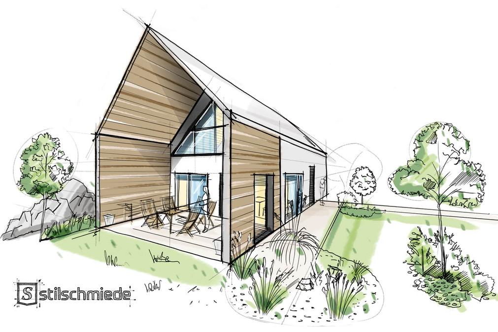 Architektur-Illustration