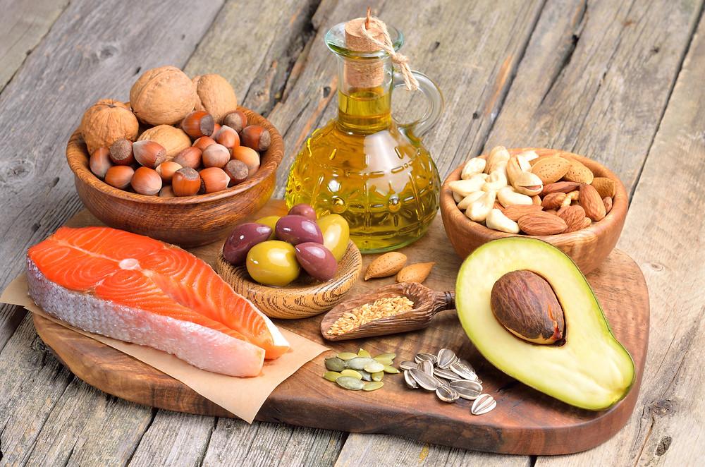 Aliments sources de bonnes graisses