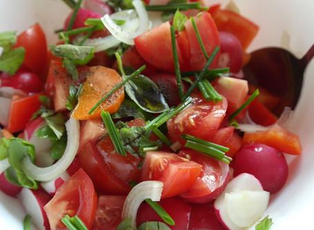 Salades composées, gourmandes et équilibrées.