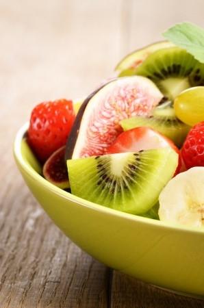 Fruits frais muesli maison diététicienne Nantes