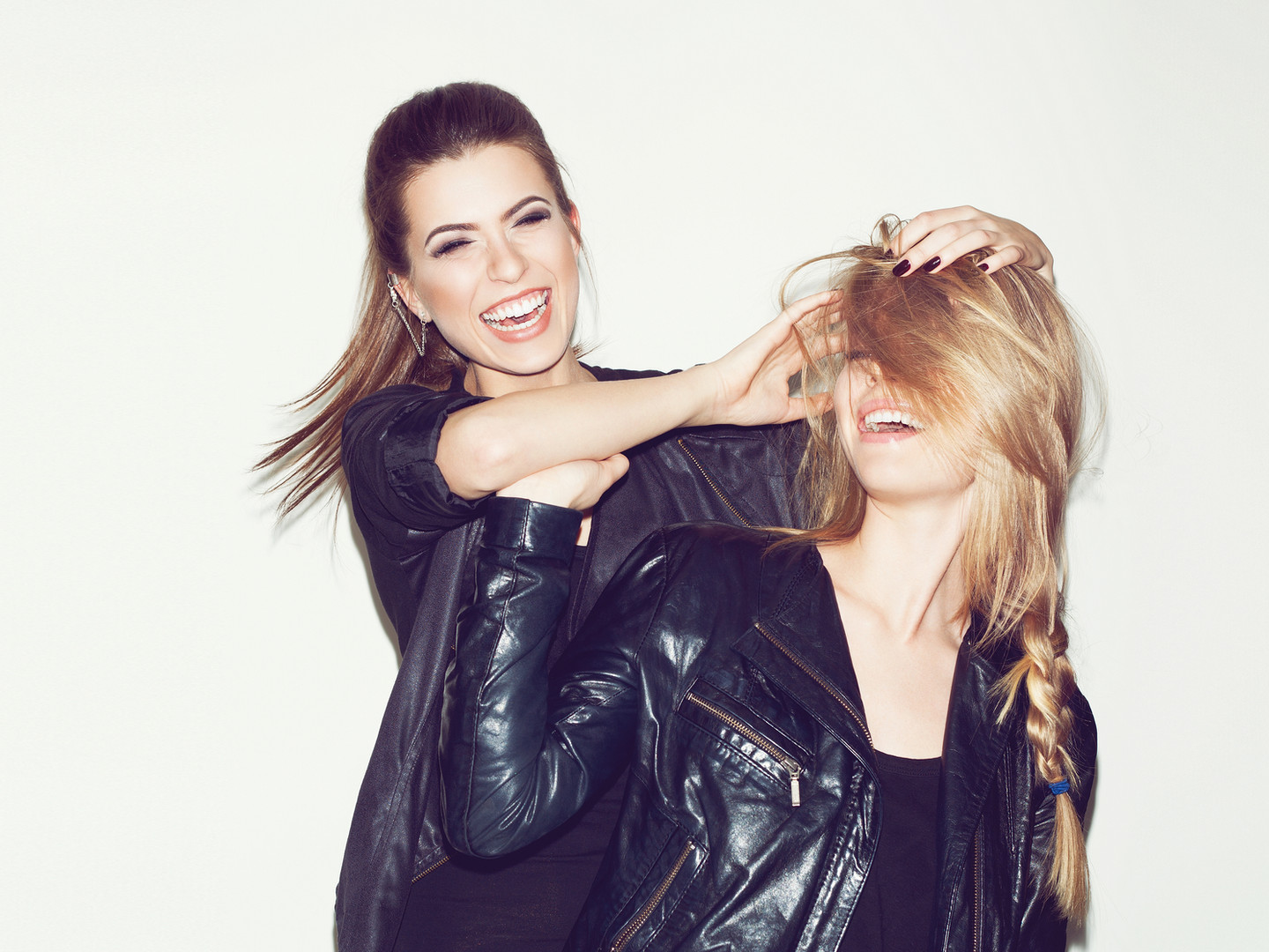 Silly Women in Leather