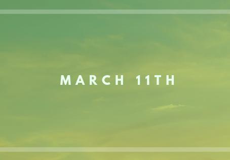 Newsletter March 11, 2019
