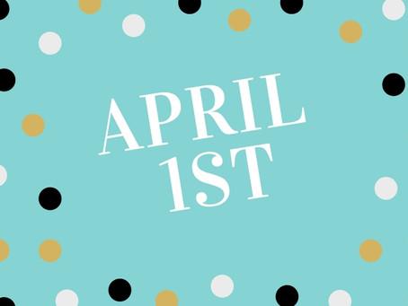 Newsletter April 1st