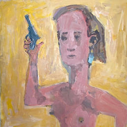Nude with Gun