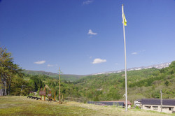校庭からの景色