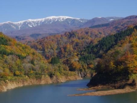 秋の田麦俣周辺を撮影