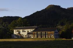 夕暮れの校舎