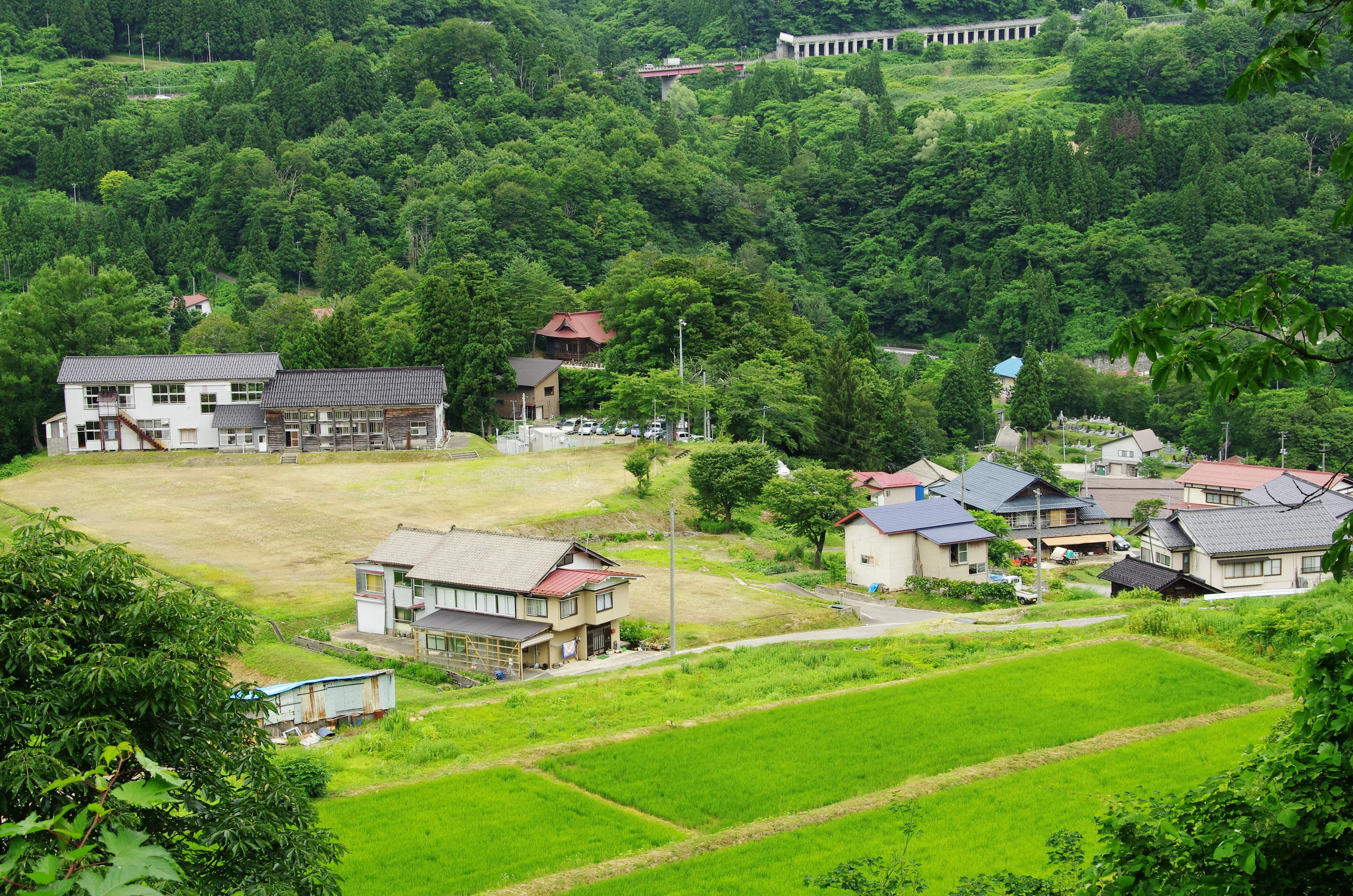 田麦俣の楽校