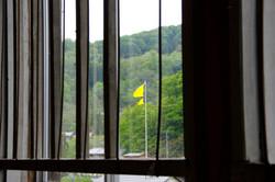 校内からの風景