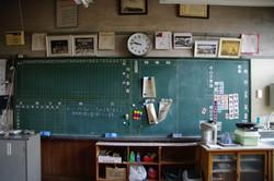 「予定のない黒板」