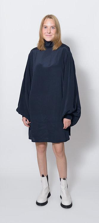 Balloon Sleeve Mini Dress