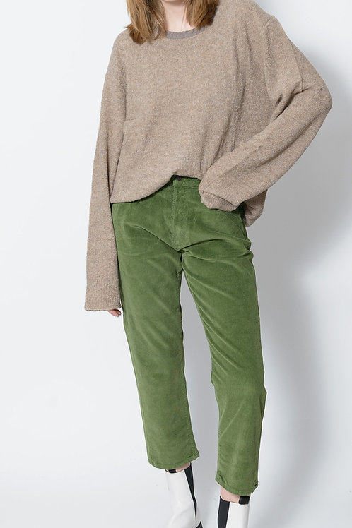 Shorty in Green Cord