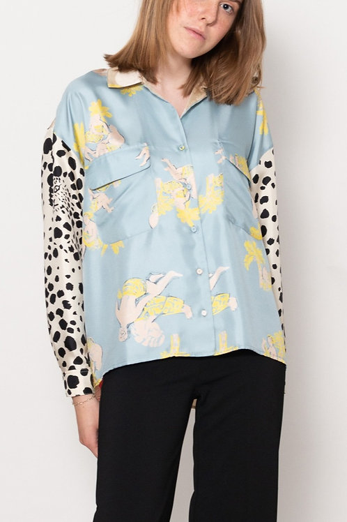 Anna Silk Shirt