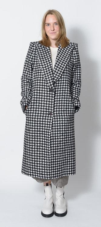 Houndstooth coat