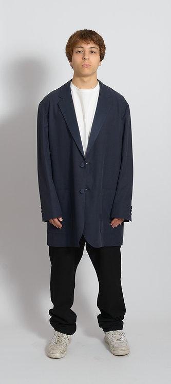 Mid-Length Single-Breasted Blazer