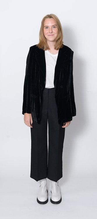 Black Velvet Blazer
