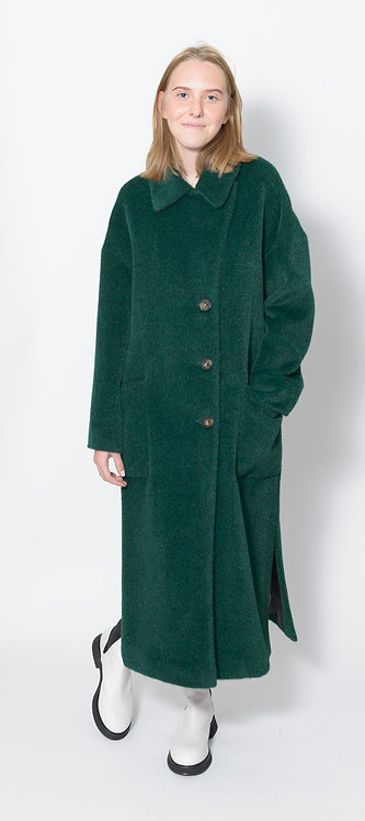 Long Alpaca Coat