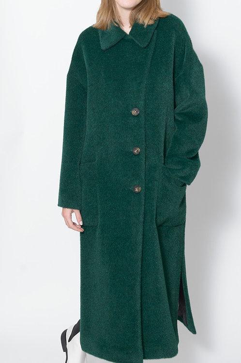 Long Alpaca Coat