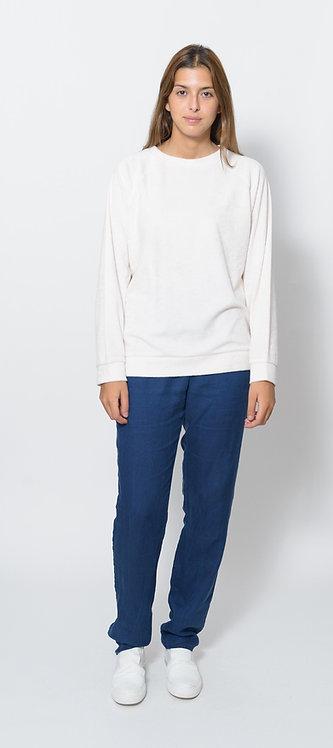 Pale Pink Raglan Sweatshirt