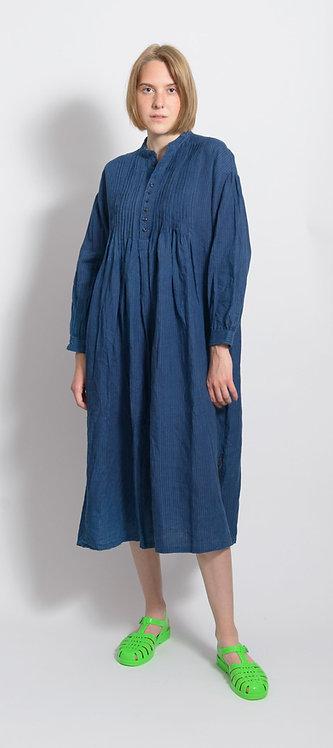 Linen Indigo Dress