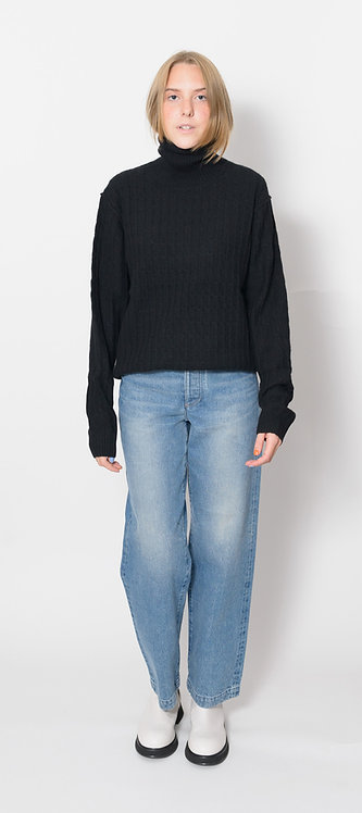 Men´s cut Turtleneck Pullover
