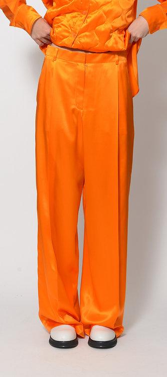 Vibrant Wide-Leg Trousers