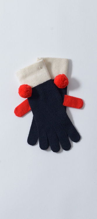 Gloves with Pom Pom