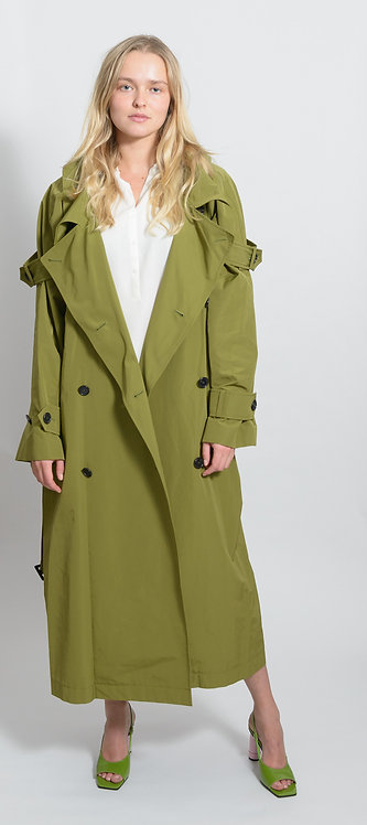 Belted Waist Trench Coat