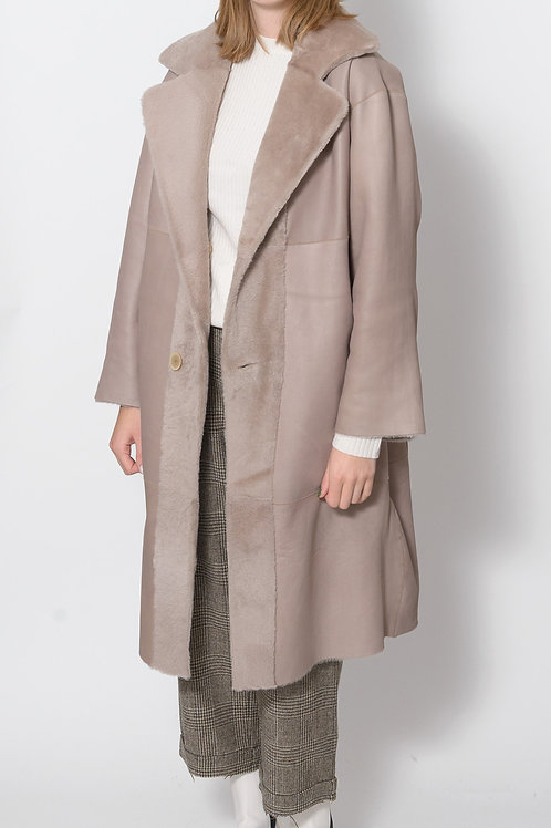 Firis Reversible Lambskin Coat
