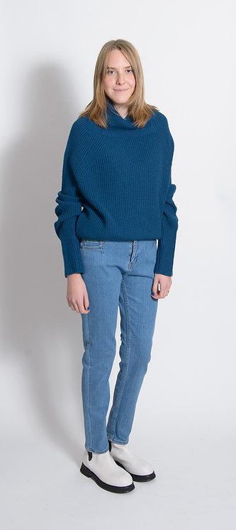 Blue Knitwear