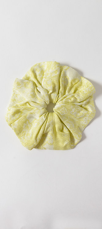 Patterned Hair Scrunchie
