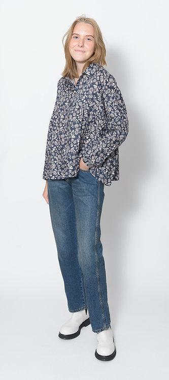 Linen Flower Shirt