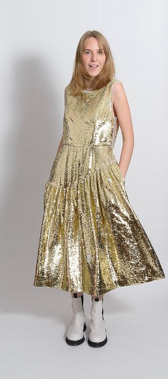 Sequin Midi Dress