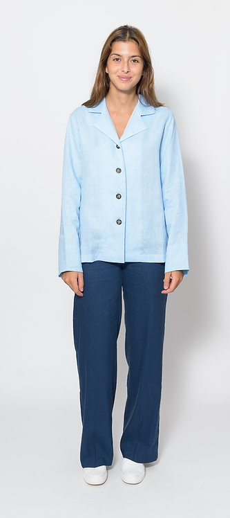 Linen Walking Sleepwear Shirt/Jacket