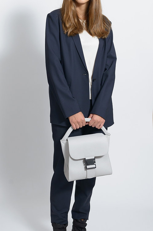 Clean Single-Button Blazer