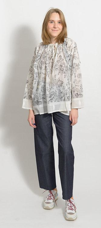 Cotton Silk Blouse