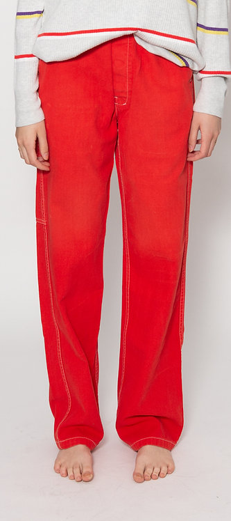 Stone Red Work Pants