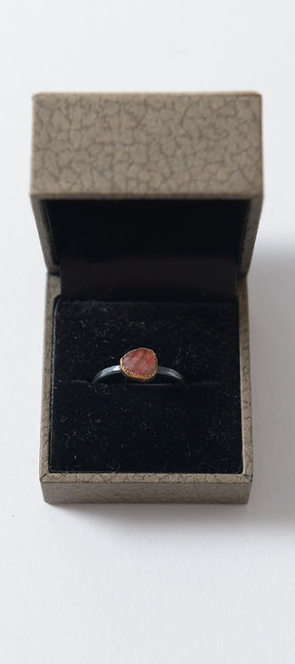 Ring with Red Sapphire