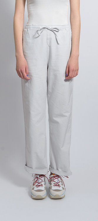 Cotton Pants in Stone