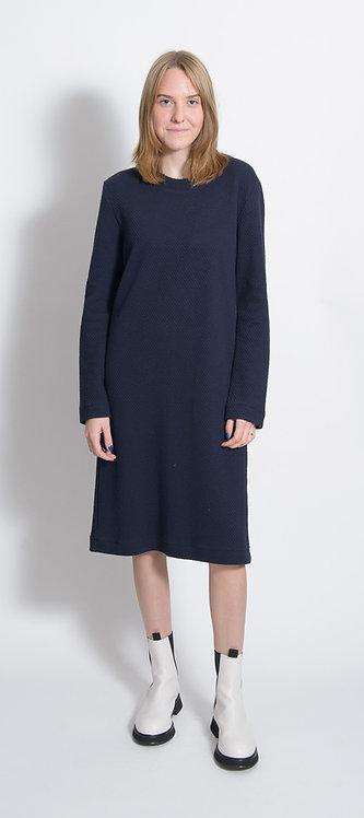 Textured-Knit Dress