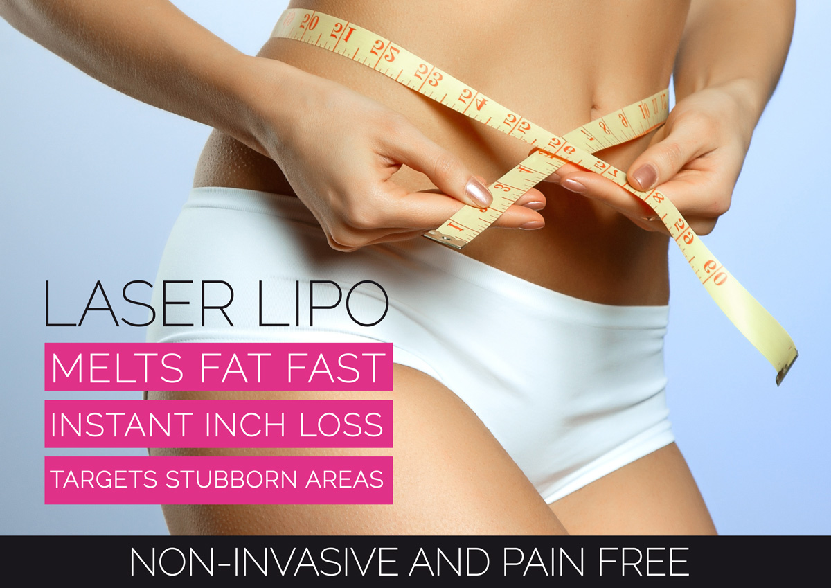 Weight Loss in Brighton - Laser Lipo, Cellulite Removal