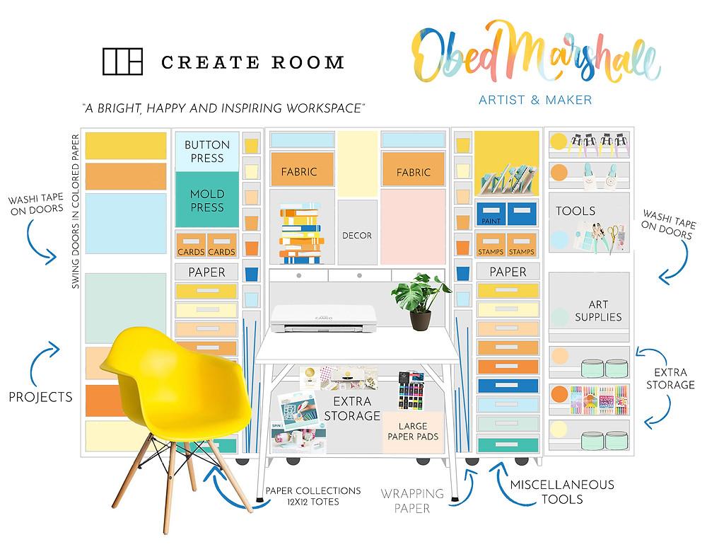 Obed Marshall Create Room