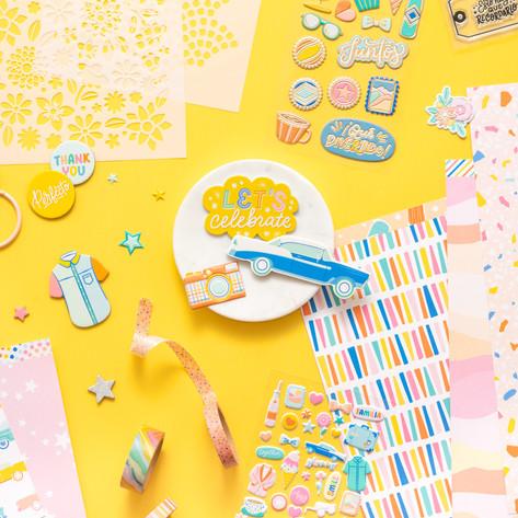 ¡Buenos Días! con American Crafts - Colección completa