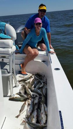 fishing guide Louisiana Marsh