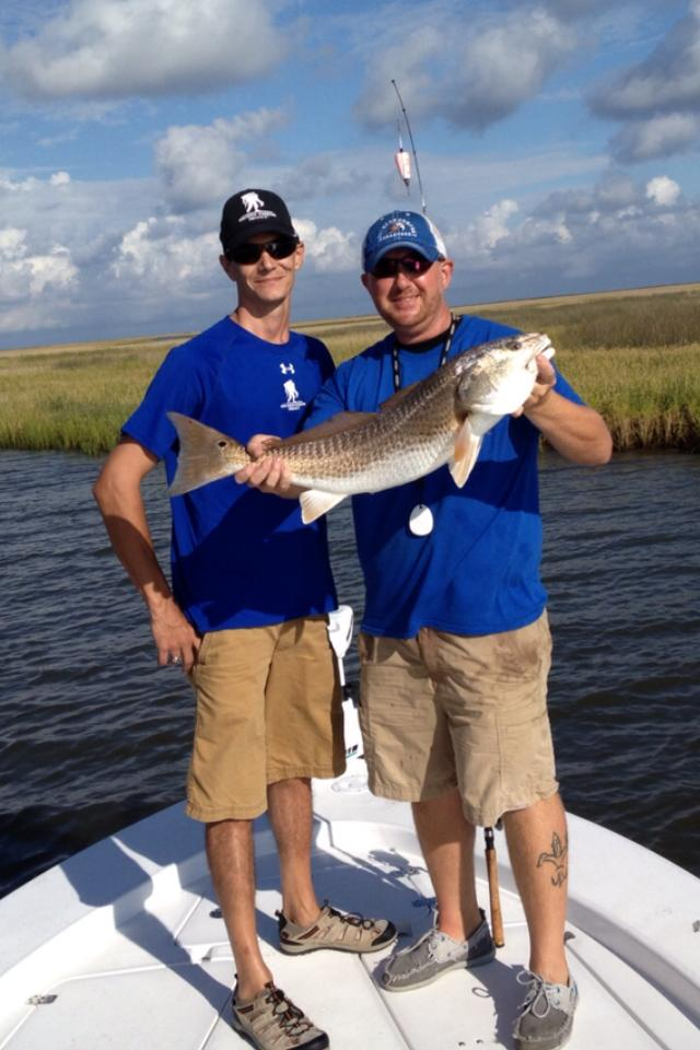 mississippi marsh fishing charter