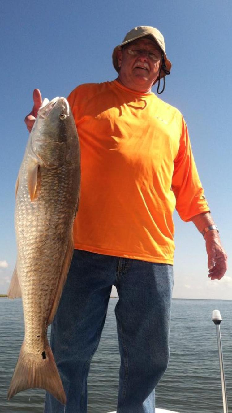 redfish charter near me
