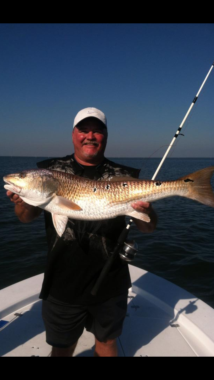 fishing for redfish MS