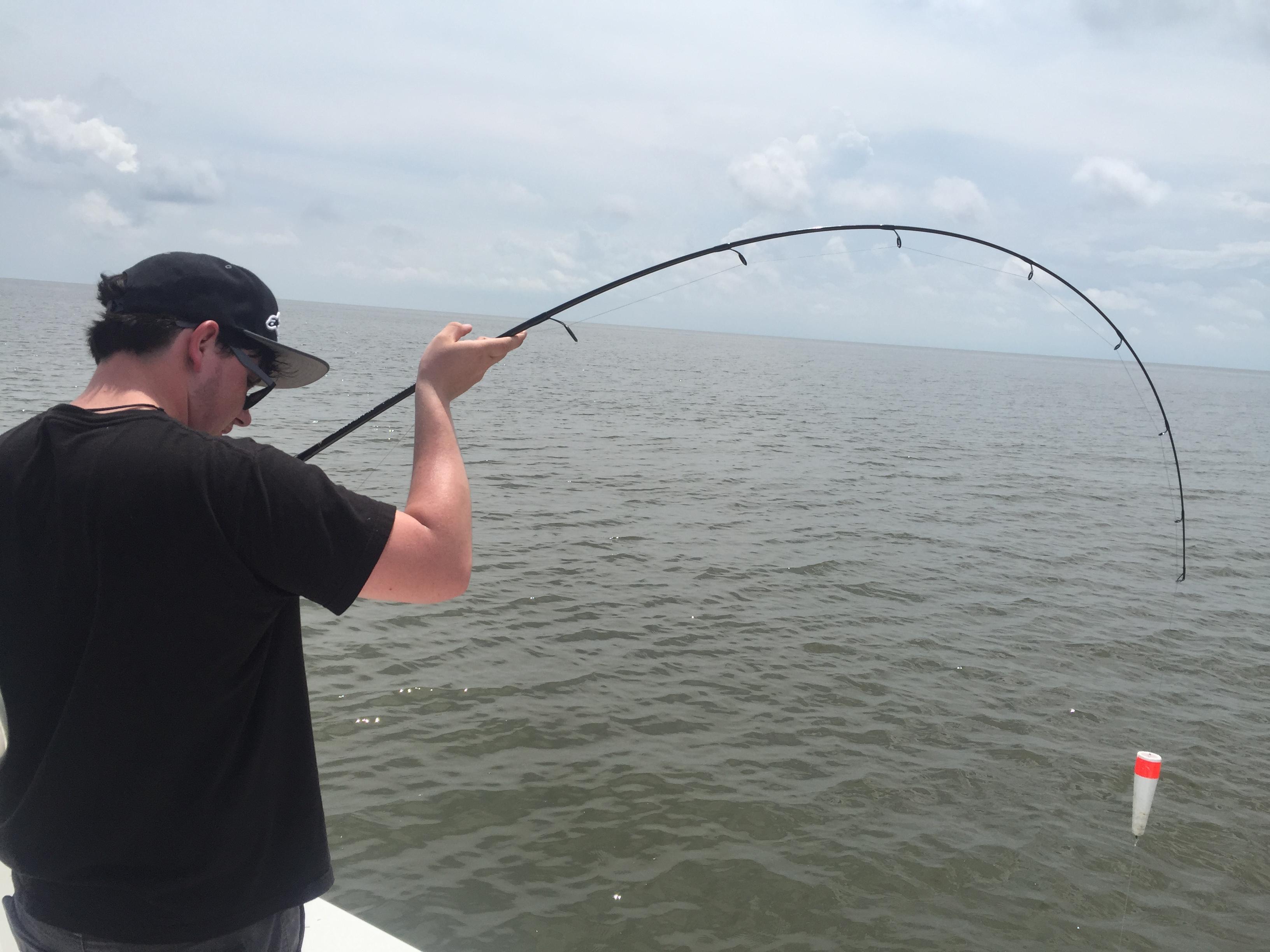 hooked up fishing