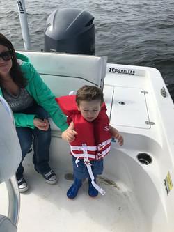 Kid-friendly fishing trips gulfport