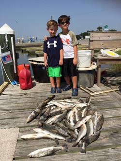 kid-friendly fishing charter
